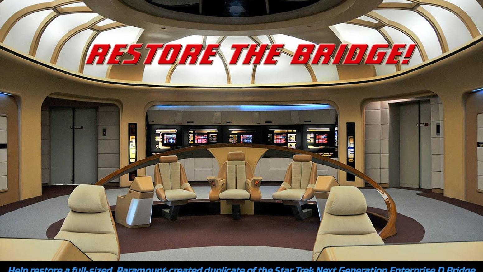 Star Trek Enterprise BRIDGE INTERACTIVE MUSEUM by New Starship