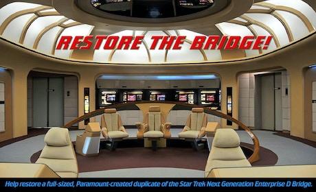 Star Trek Enterprise Bridge Interactive Museum By New