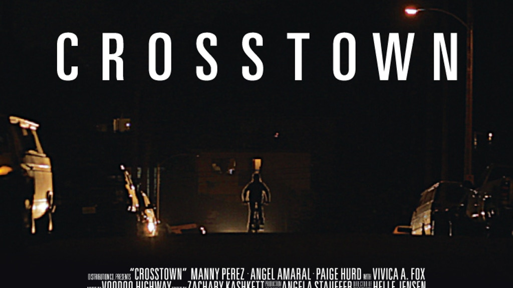 C R O S S T O W N  - help us finish our feature film project video thumbnail