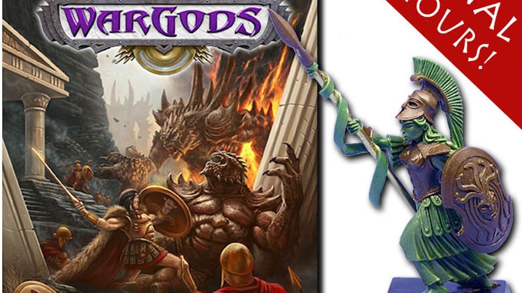 WarGods of Olympus: Mythology Miniature Battle Game project video thumbnail