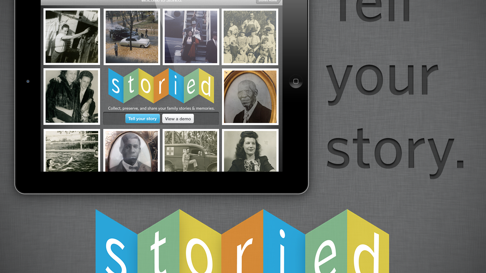 Storied: Capture and Share Family Stories by Elijah Woolery