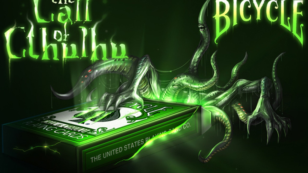Cthulhu Playing Cards project video thumbnail