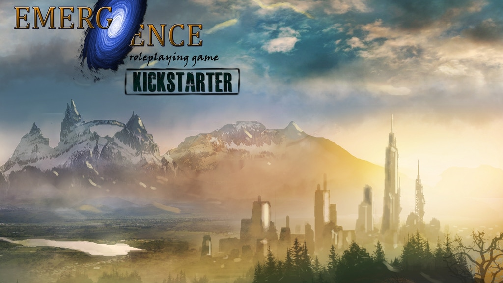 Emergence: A Sci-Fi/Fantasy Roleplaying Game project video thumbnail