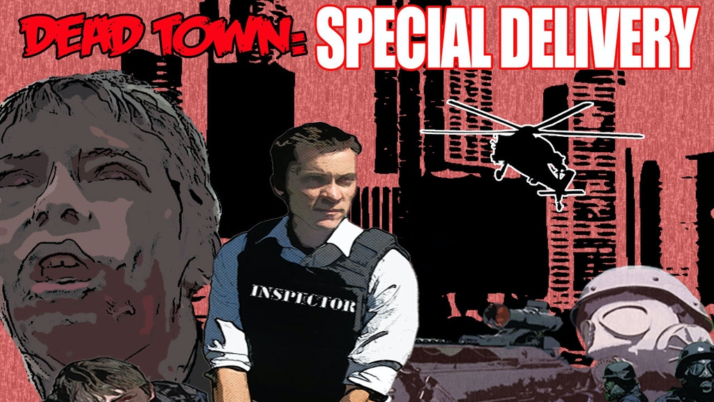 Dead Town: Special Delivery, Postal Inspector vs Zombies project video thumbnail