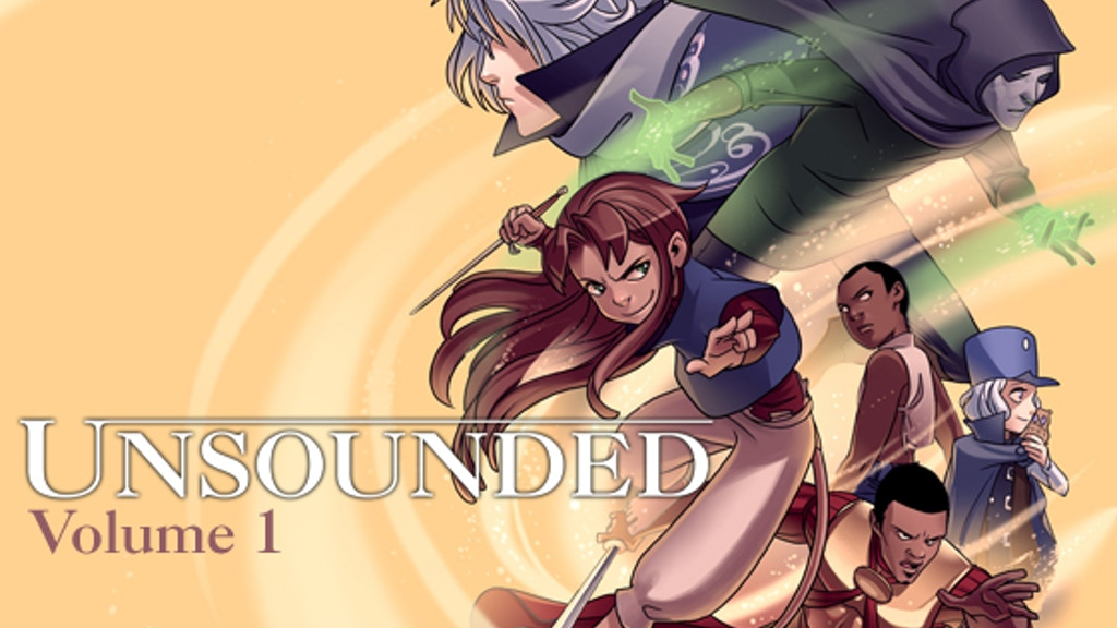 Unsounded Comic Volume 1 project video thumbnail