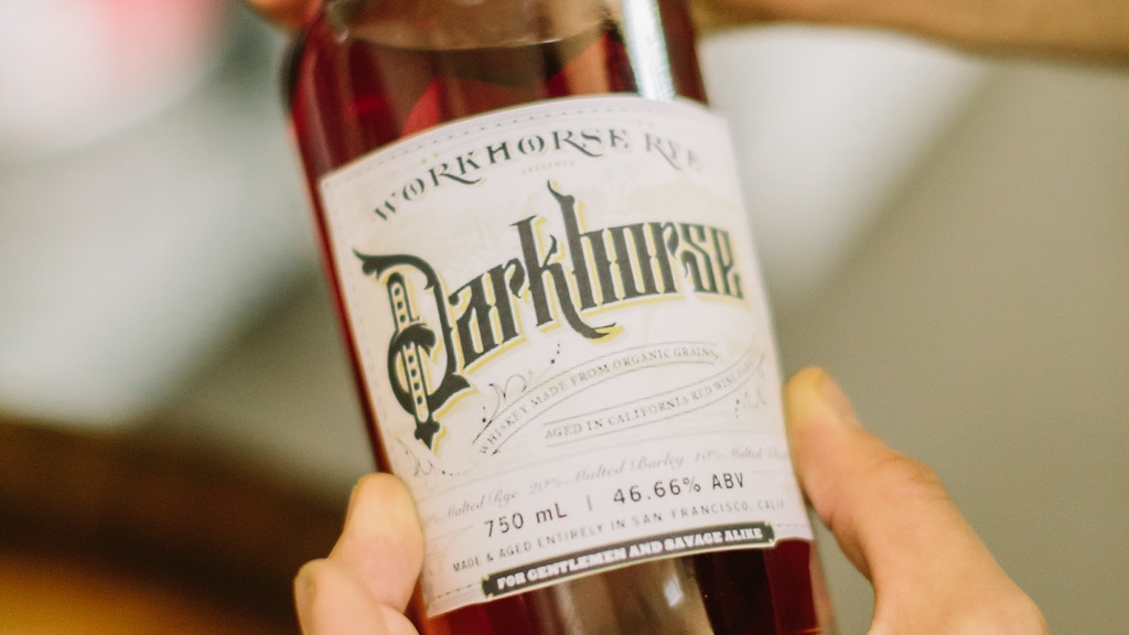 Workhorse Rye: Redefining Whiskey & Bitters! project video thumbnail