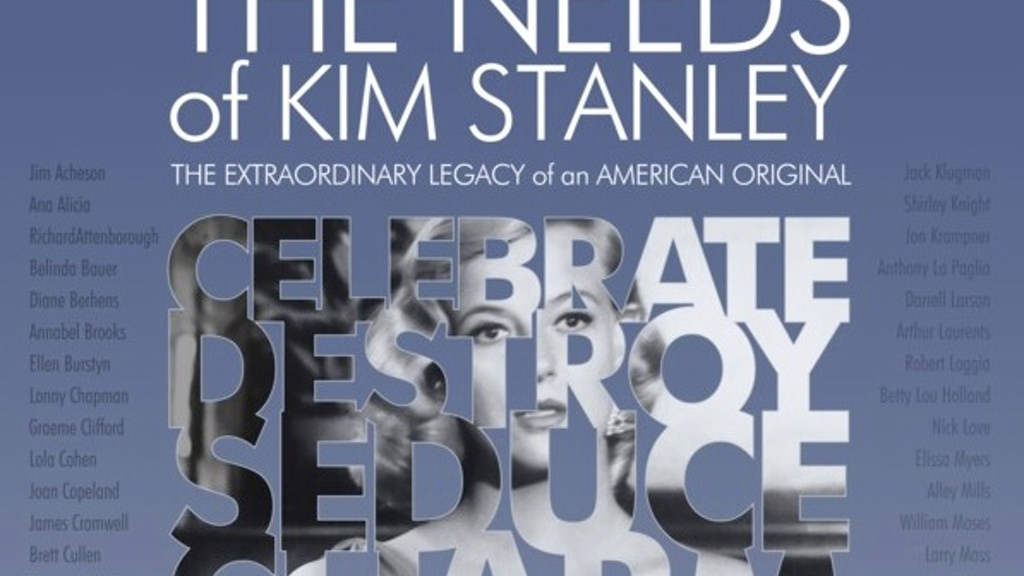 THE NEEDS OF KIM STANLEY needs you! project video thumbnail