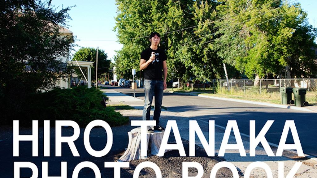 Hiro Tanaka - Photo Book project video thumbnail