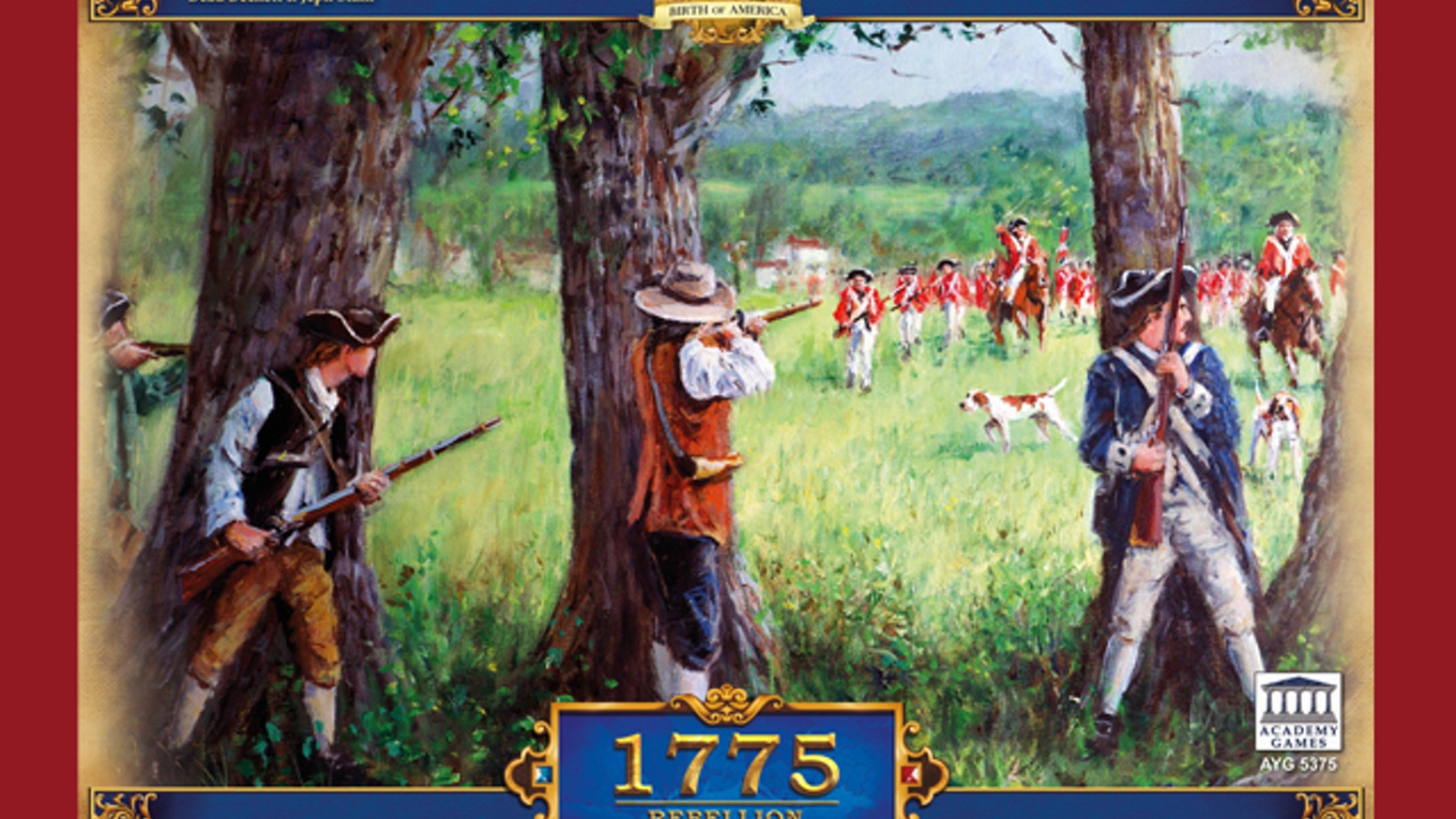 It's 1775 and the Americans are starting a Rebellion!