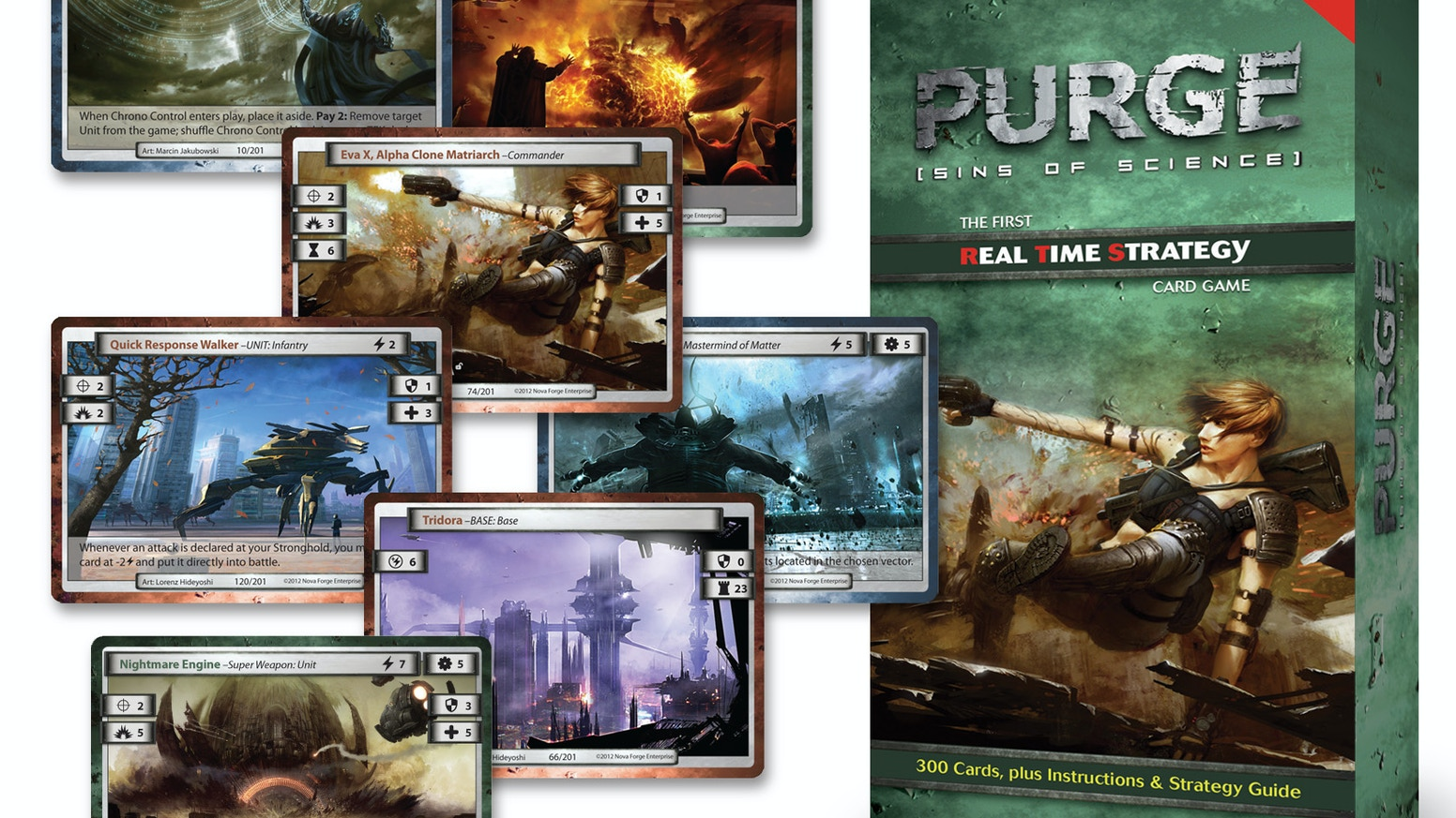 PURGE: Sins of Science- The 1st Real Time Strategy Card Game