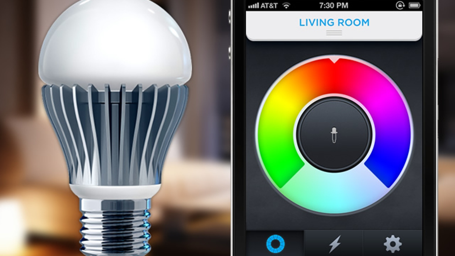 LIFX Is A WiFi Enabled Multi Color Energy Efficient LED Light Bulb That You Control With Your IPhone Or Android