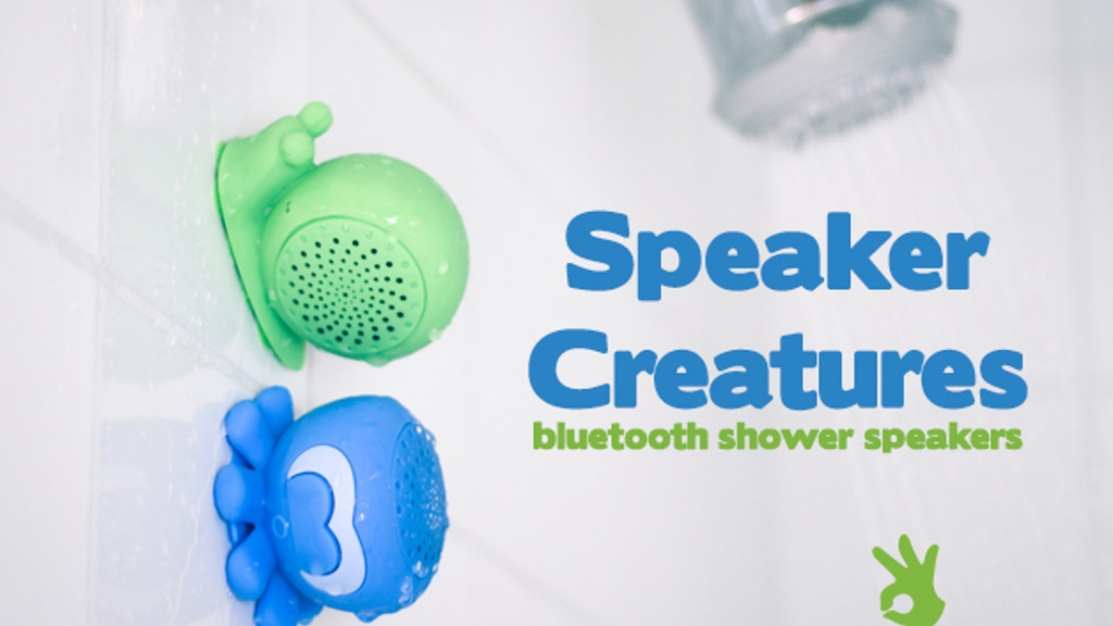 Speaker Creatures by OnHand  - Bluetooth Shower Speakers project video thumbnail