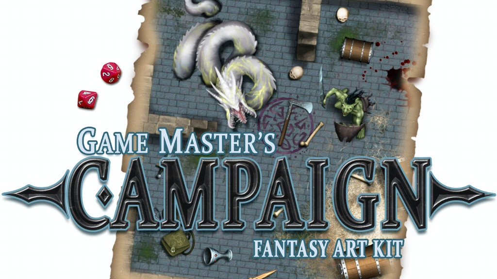 Game Master's Campaign - The Fantasy art kit project video thumbnail