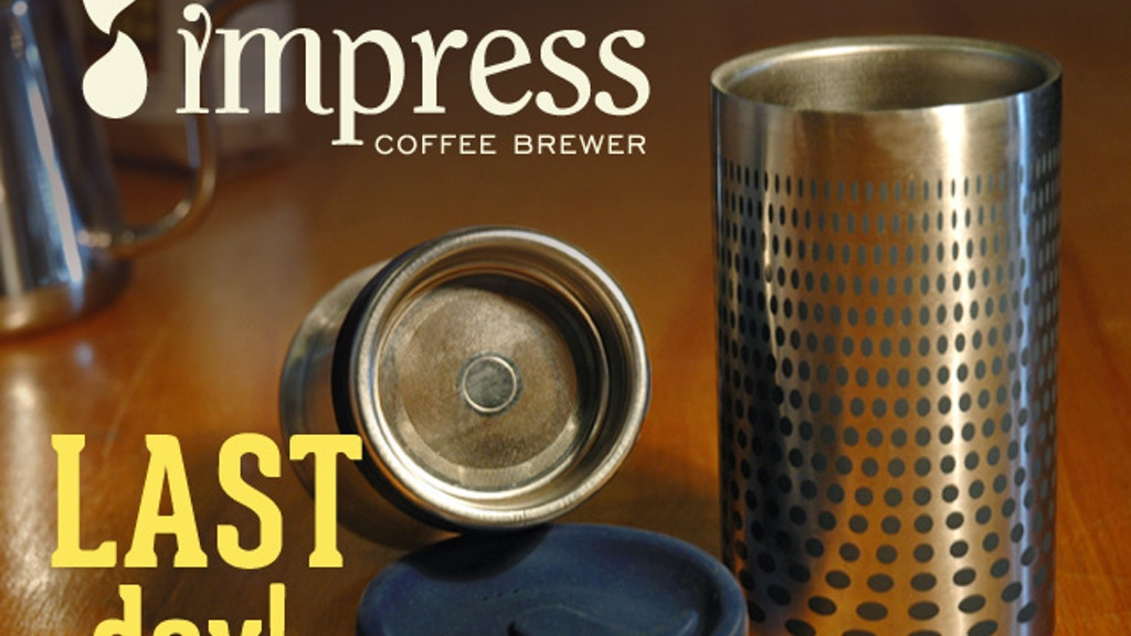 Impress Coffee Brewer project video thumbnail