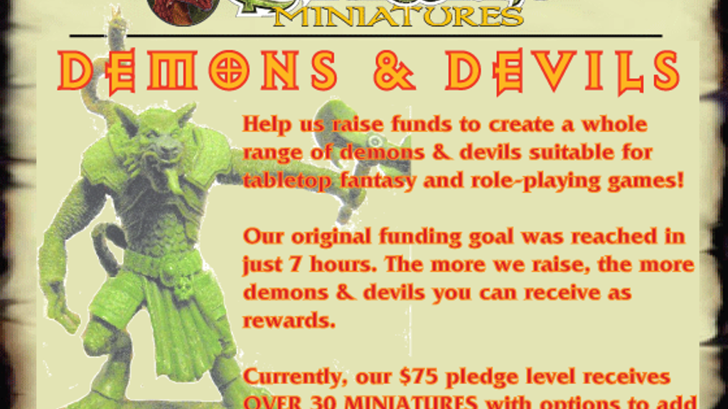 28mm Demons & Devils - Center Stage Miniatures project video thumbnail