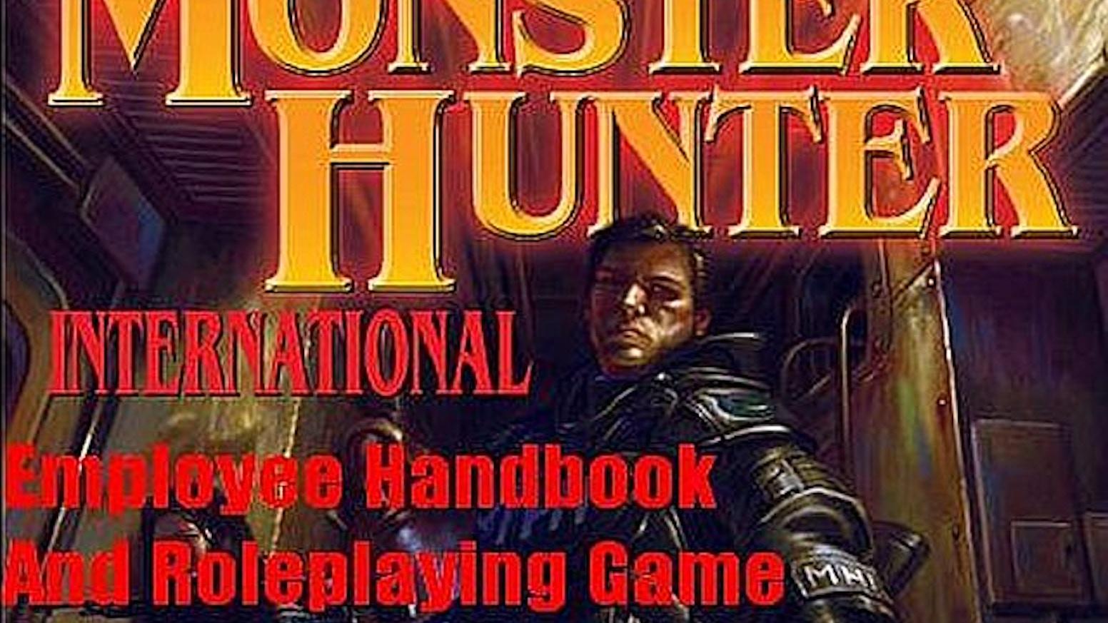 monster hunter international employee handbook pdf download