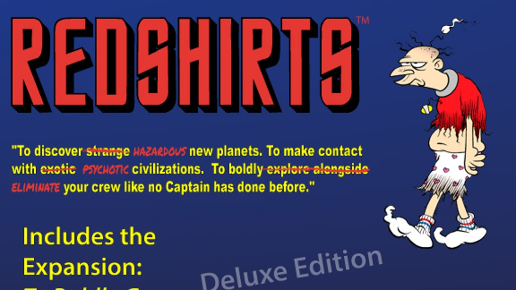 Redshirts Deluxe Edition project video thumbnail