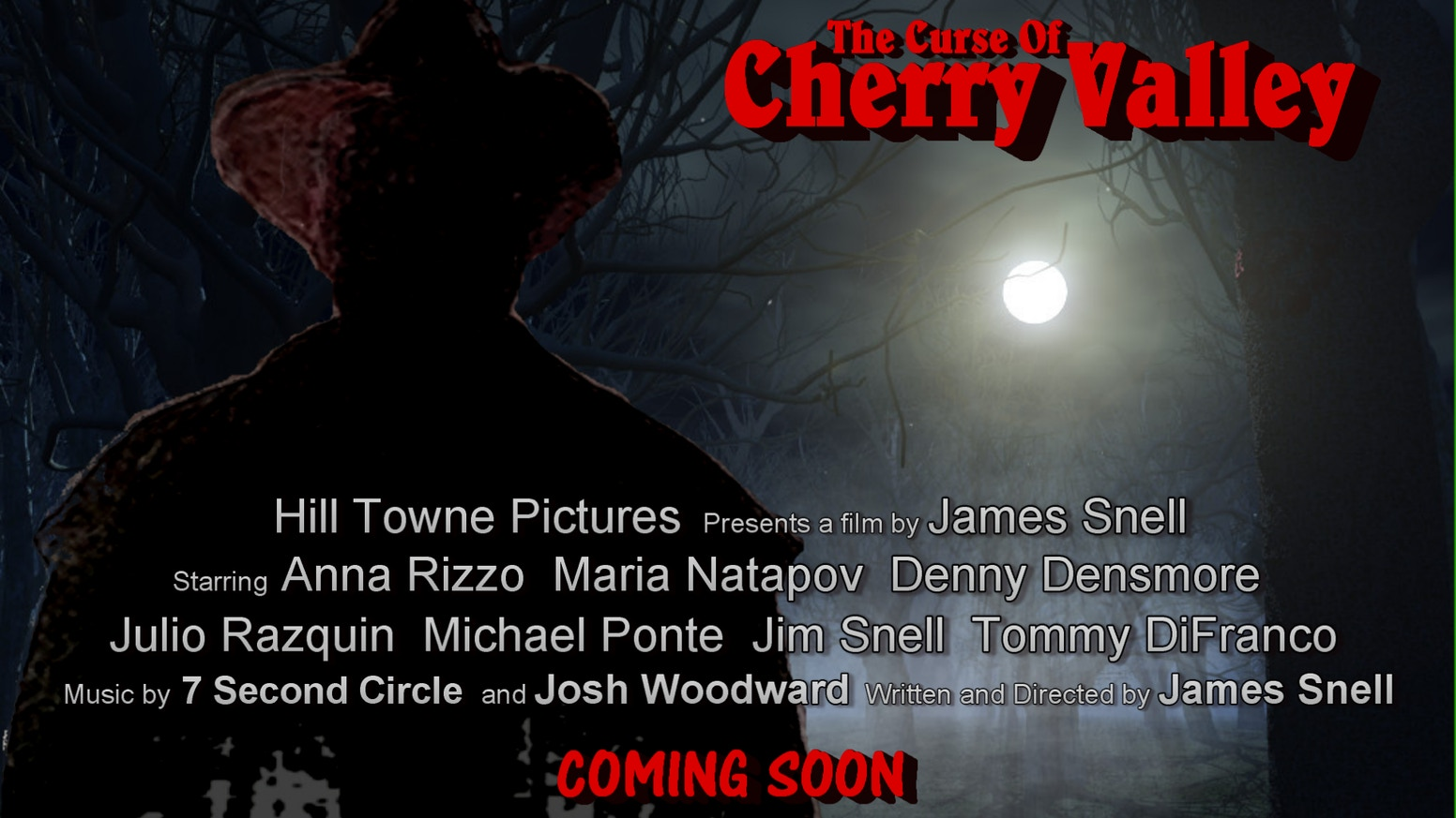 """Httpwww Overlordsofchaos Comhtmlorigin Of The Word Jew Html: Feature Film """"The Curse Of Cherry Valley"""" By Hill Towne"""