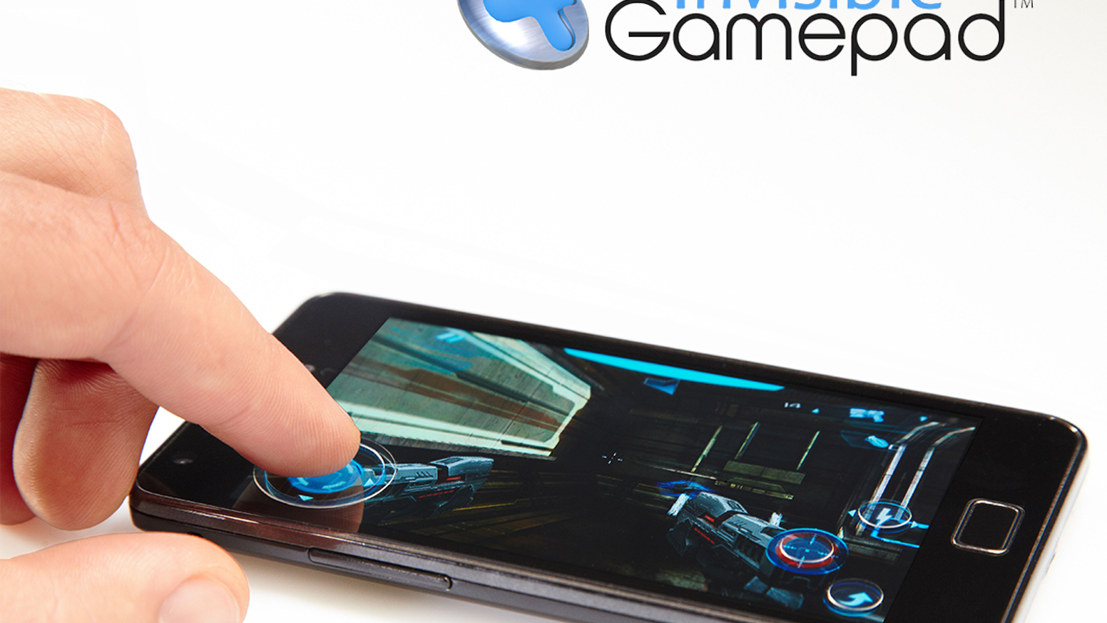 invisible gamepad precise convenient mobile gaming by obinova llc kickstarter. Black Bedroom Furniture Sets. Home Design Ideas