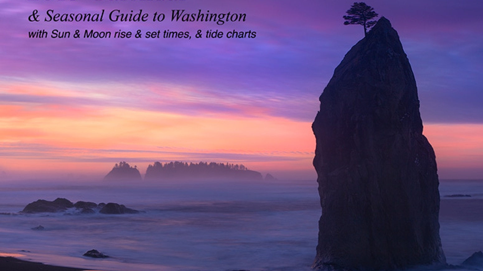 2013 Calendar & Seasonal Guide to Washington and California by