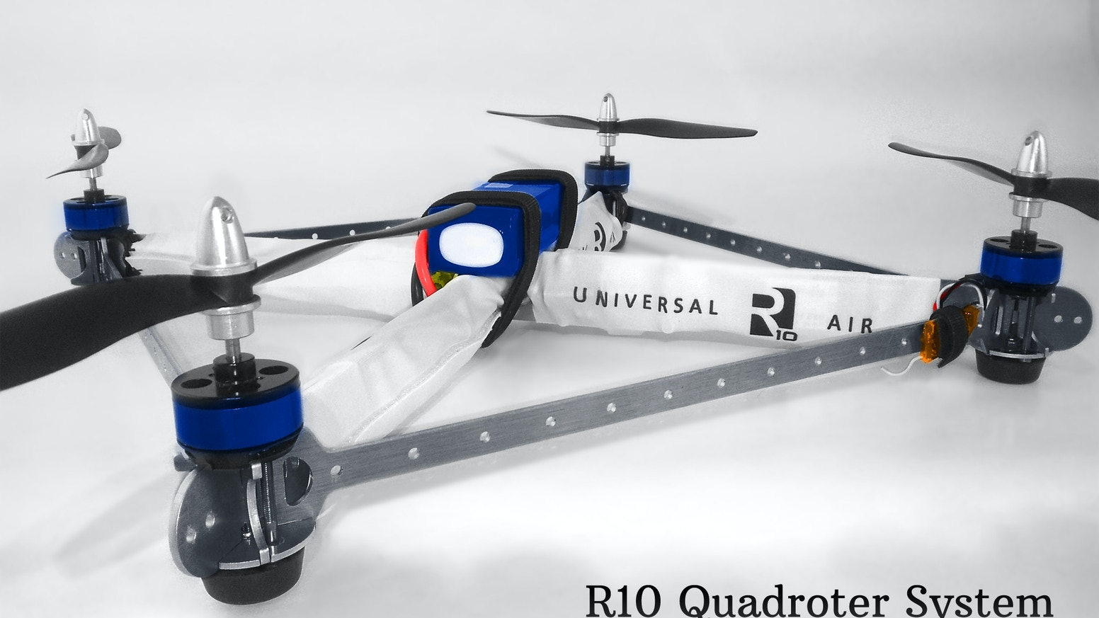 R10 Quadrotor- powerful, inexpensive, and customizable  by