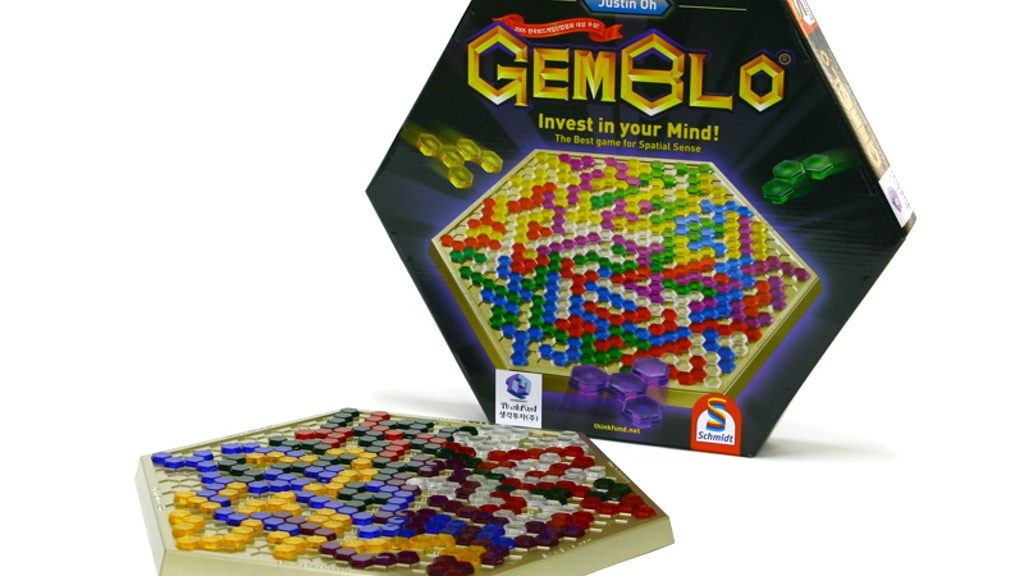GEMBLO – The Greatest Korean Abstract Strategy Board Game! project video thumbnail