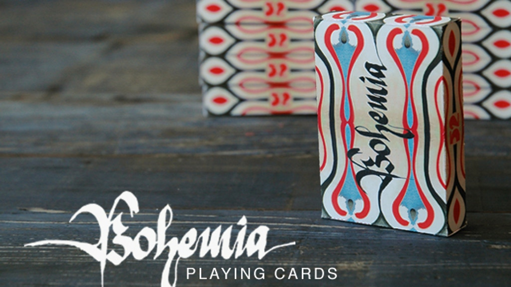 """Bohemia"" Playing Cards Deck project video thumbnail"