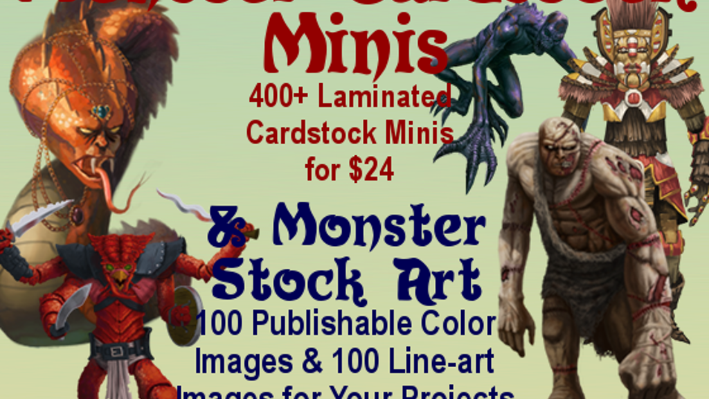Project image for Monster Stock Art & Minis II
