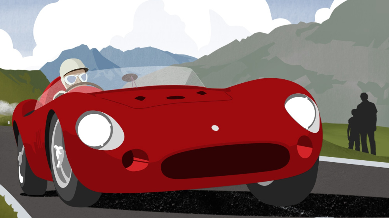 The Little Red Racing Car Is A Picture Book Story Of 1955 Maserati 300s Discovered In Barn By Son And Rebuilt With His Father