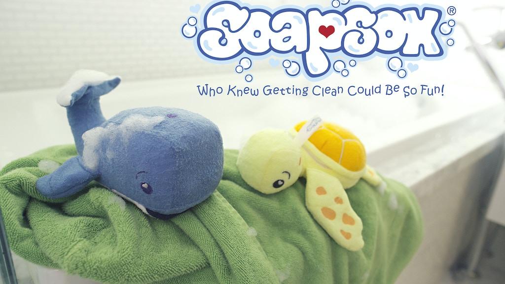 SoapSox...  Adorable Children's Bath Aids! project video thumbnail