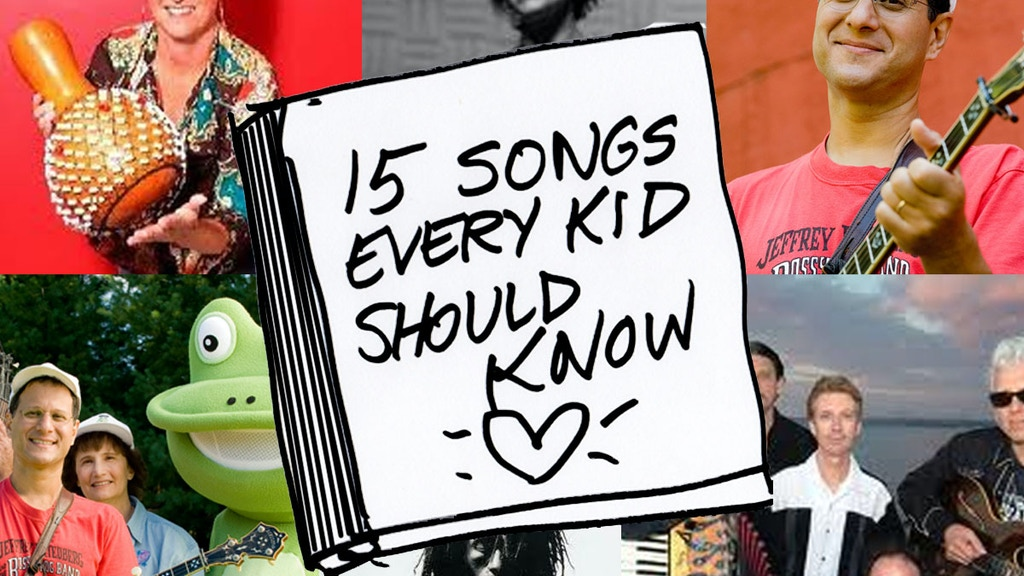 15 Songs Every Kid Should Know (and will LOVE!) CD project video thumbnail