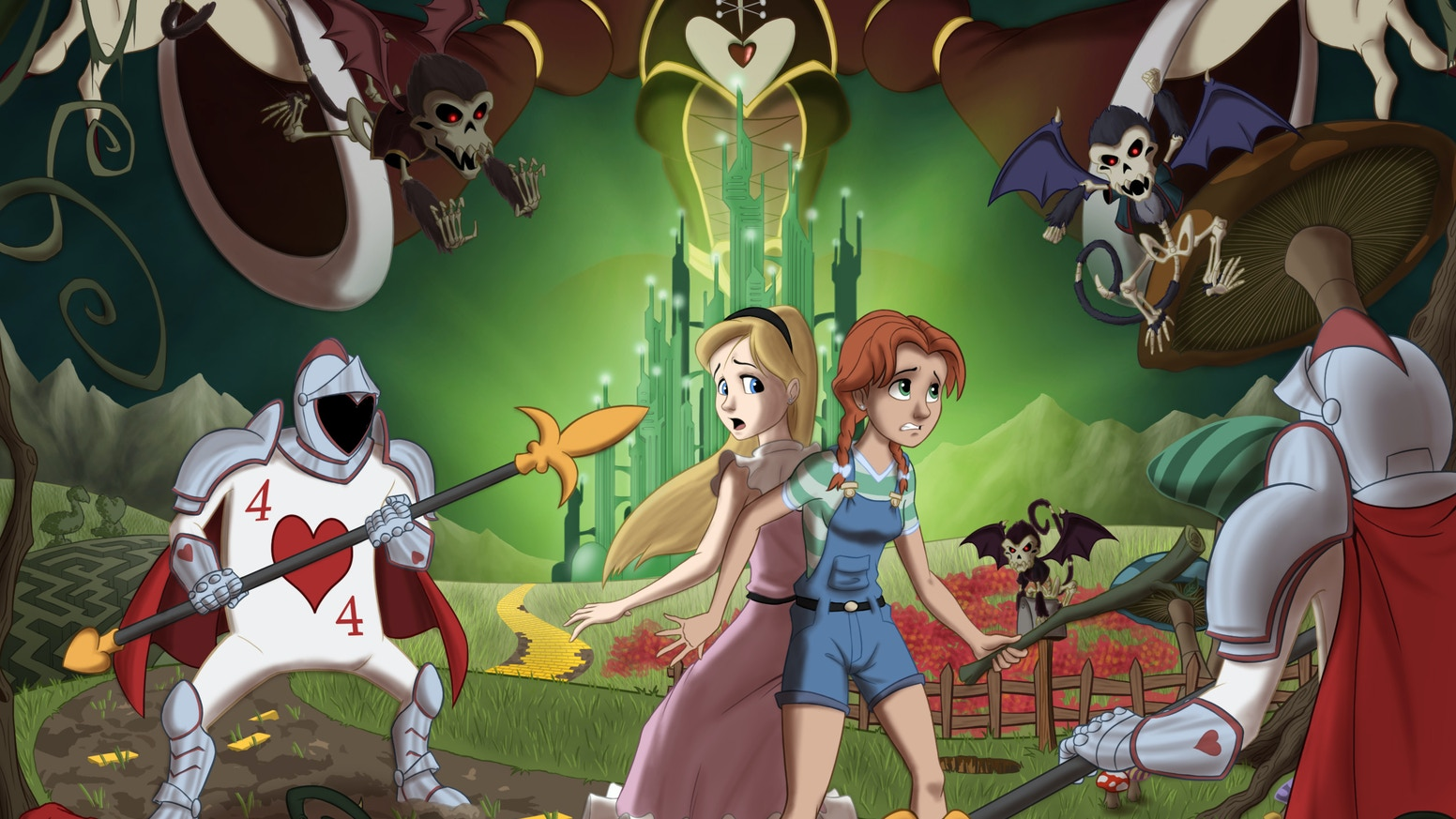 The Red Queen Of Oz A Graphic Novel Project By Bryan