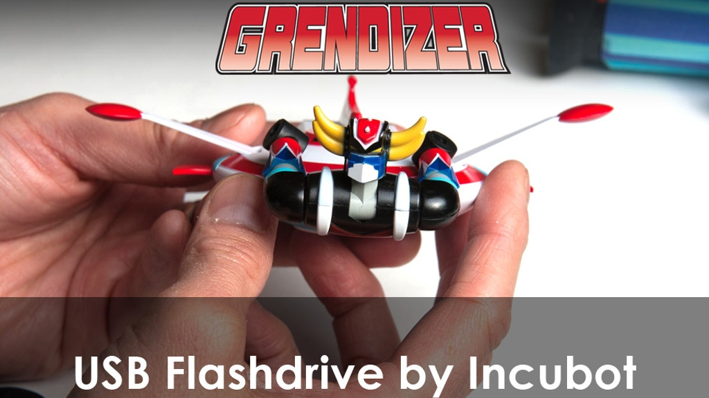 Anime Super Robot Grendizer USB Flash Drive with Saucer! project video thumbnail
