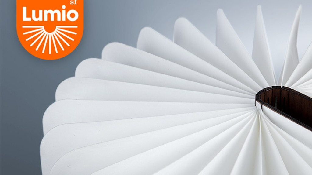 Lumio: A Modern Lamp With Infinite Possibilities project video thumbnail