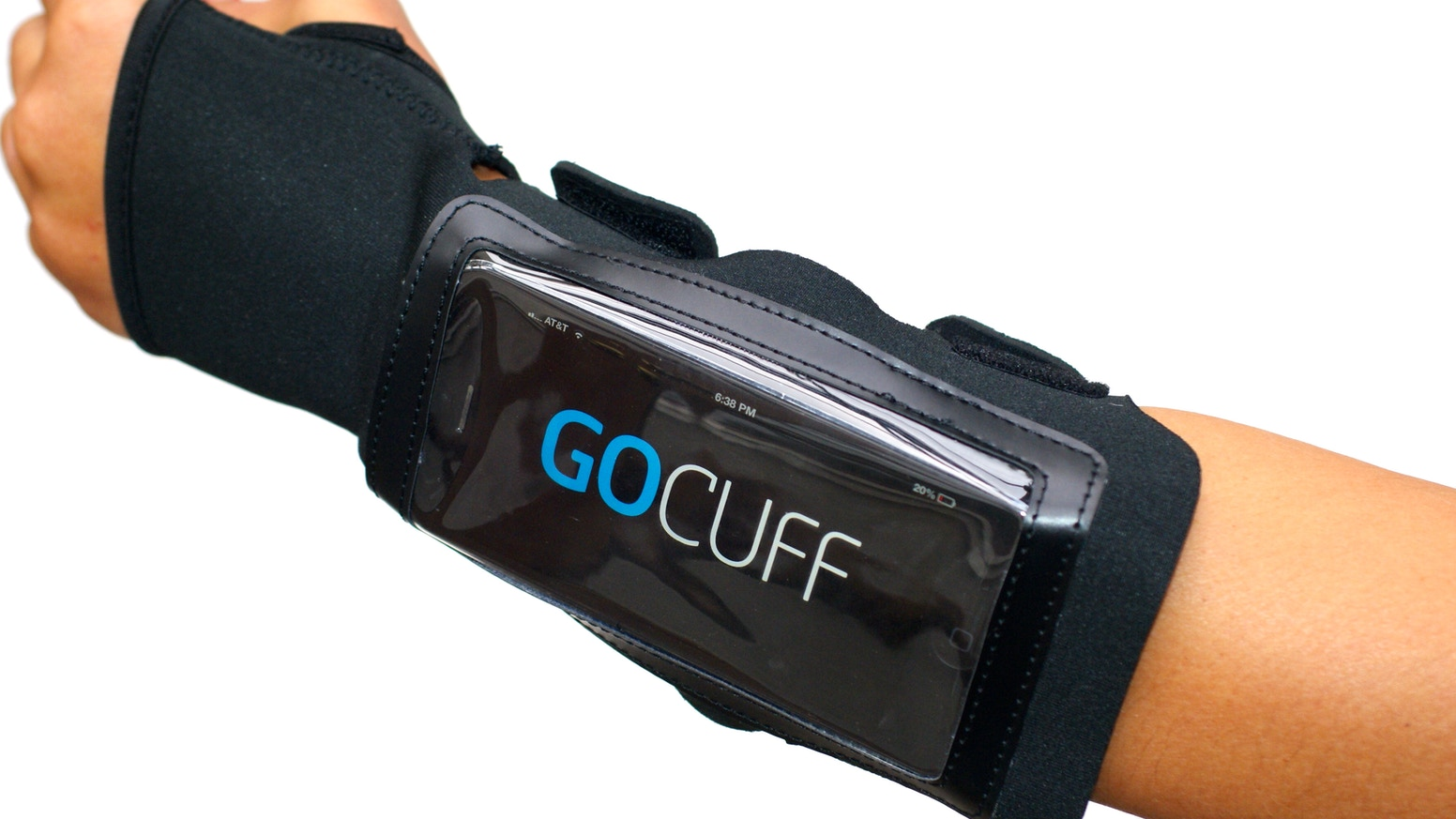 GoCuff - The Most Accessible iPhone/Android Fitness Case by