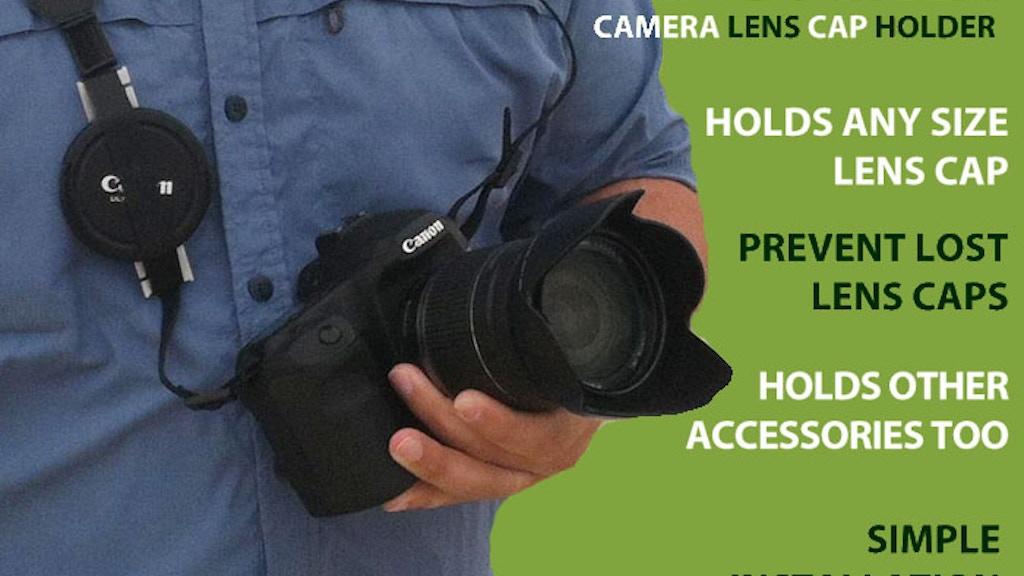 Cap Gorilla - Universal Camera Lens Cap holder project video thumbnail