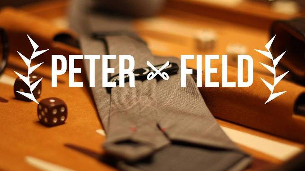 AMERICAN MADE CUSTOM MENSWEAR - PETER FIELD project video thumbnail