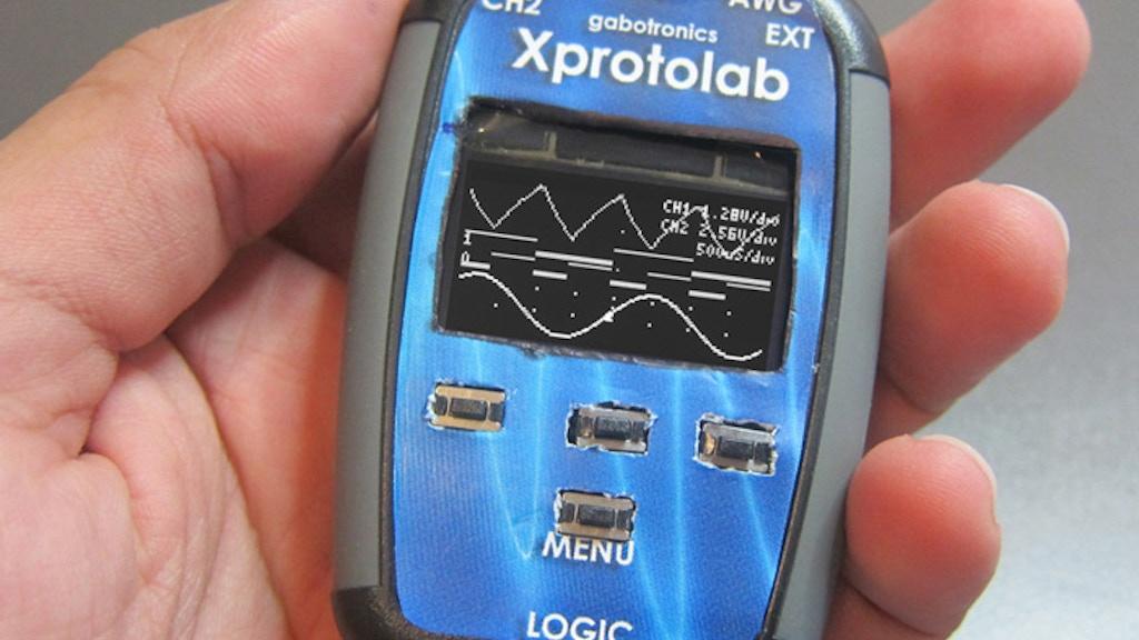 Xprotolab Portable Oscilloscope project video thumbnail