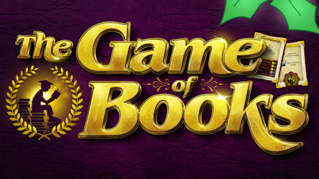 The Game of Books: Reward Your Imagination project video thumbnail