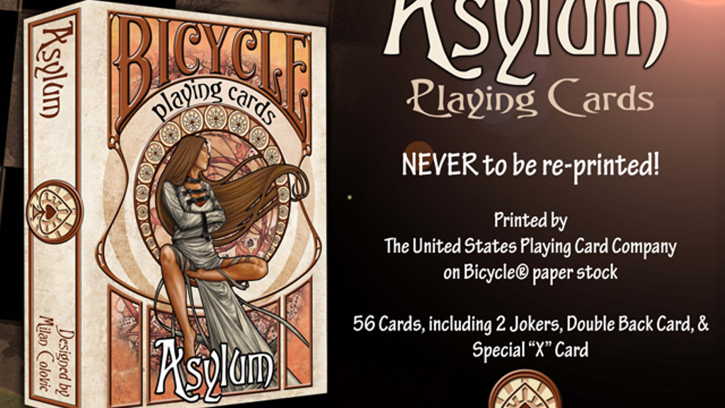 Asylum Playing Cards project video thumbnail