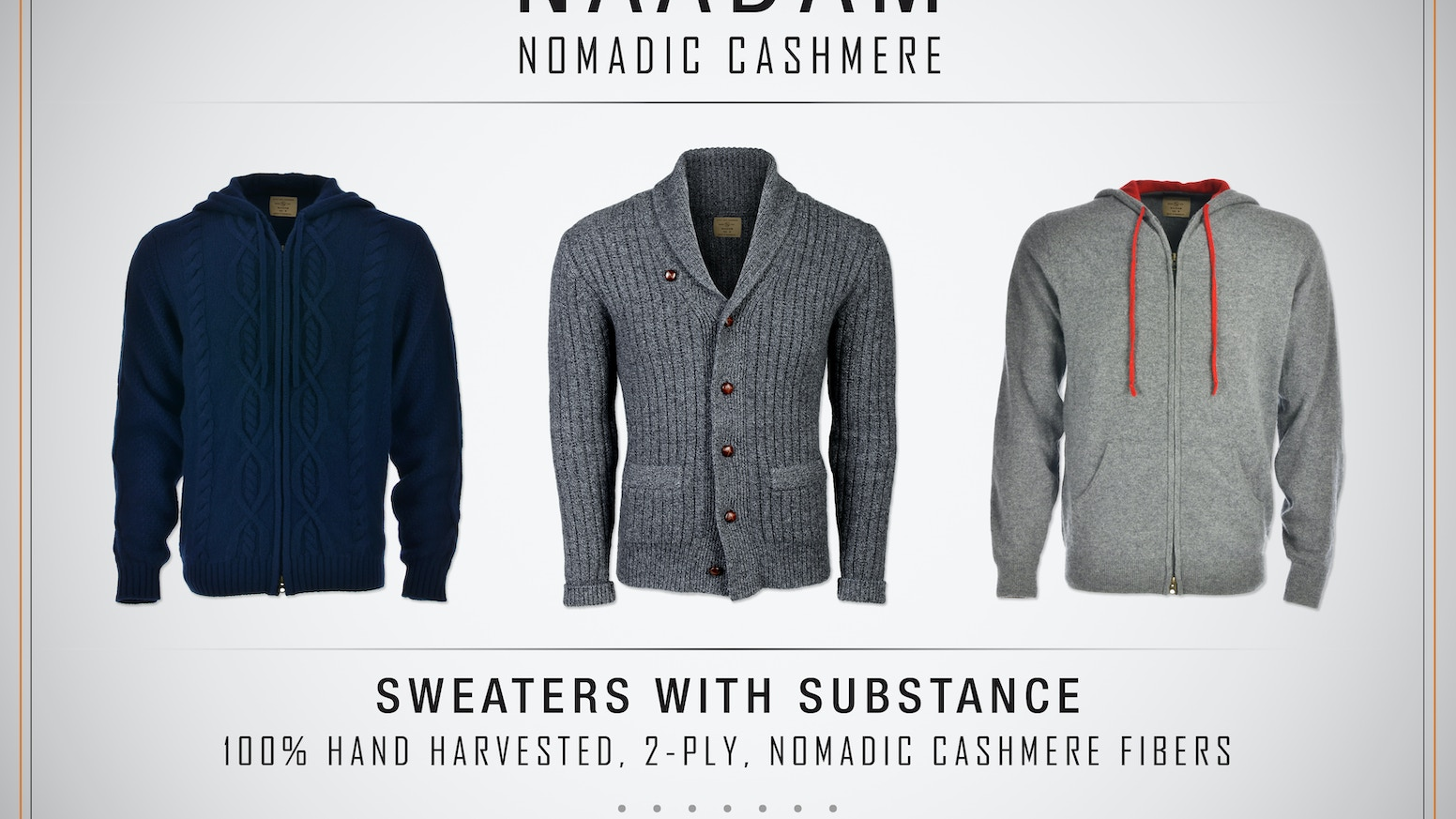 c8119c117 NAADAM  Nomadic  Cashmere  Sweaters with substance.... by Matthew ...