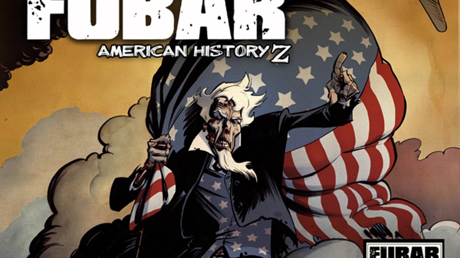 60 short comic stories totaling 428 pages, celebrating 236 years of the American experience... with zombies.