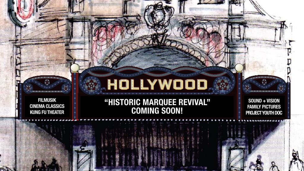 Hollywood Theatre Historic Marquee Revival project video thumbnail