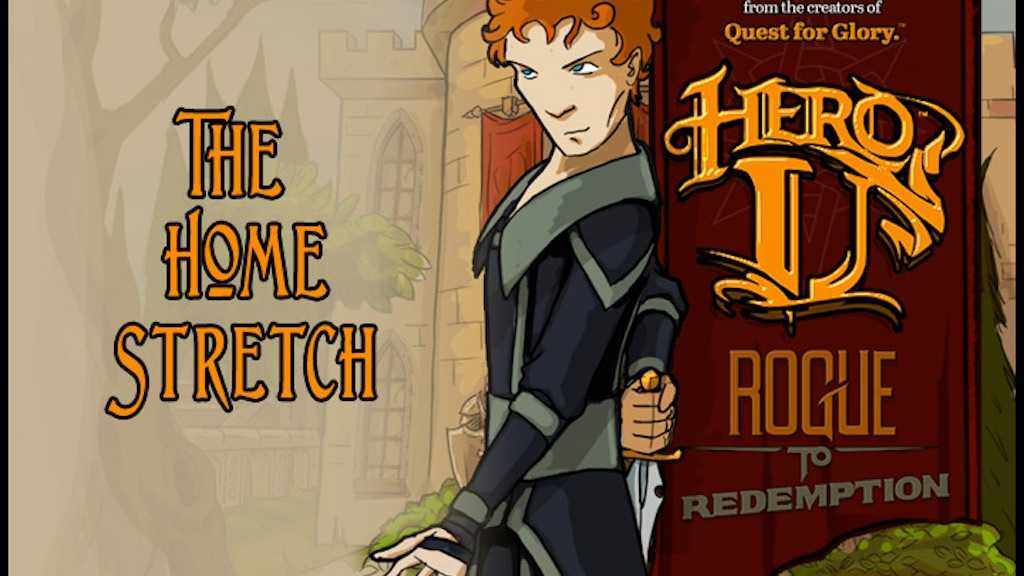 Hero-U: Rogue to Redemption by the Quest for Glory designers project video thumbnail