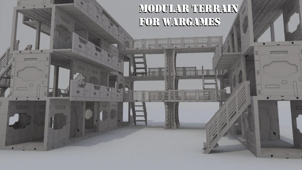 Maki Games: High Quality Modular Wargaming Terrain project video thumbnail