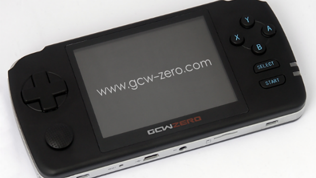 GCW-Zero: Open Source Gaming Handheld project video thumbnail