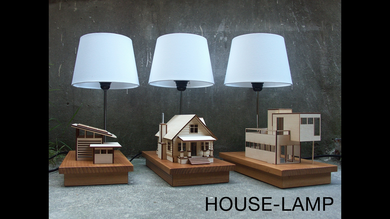 House Lamp By Lauren Daley Kickstarter