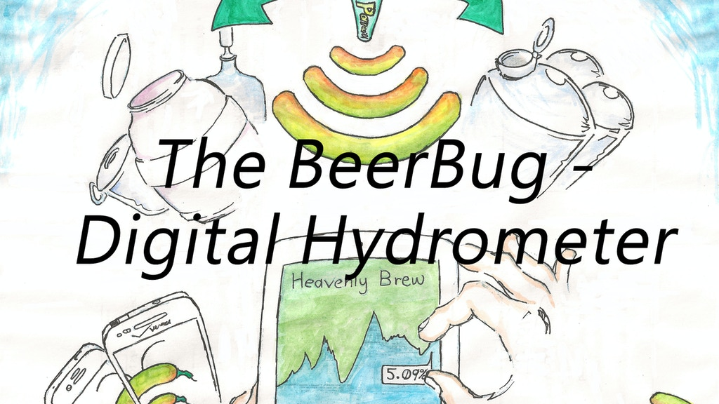 The BeerBug™ - Digital Hydrometer project video thumbnail