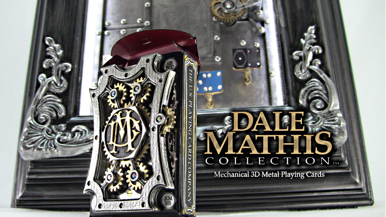 A deck of playing cards that mechanically transforms into Fine Art, LITERALLY....!