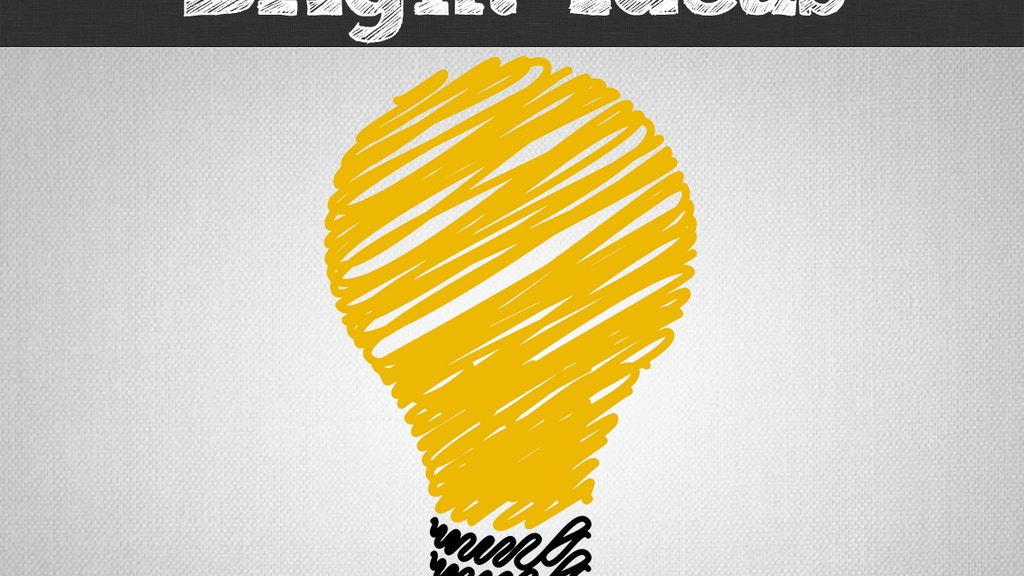 Project image for Bright Ideas: A Crowdfunding Almanac (Canceled)